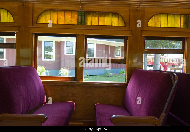 interior old passenger train car stock photos interior old passenger train car stock images. Black Bedroom Furniture Sets. Home Design Ideas