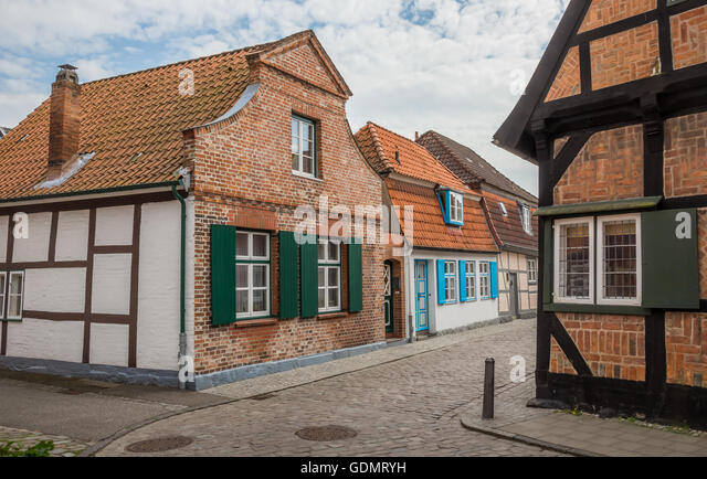 Travemunde stock photos travemunde stock images alamy for Small houses in germany