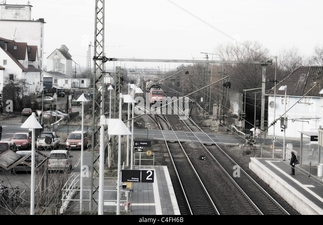 Bahnreisende stock photos bahnreisende stock images alamy for Depot westerland