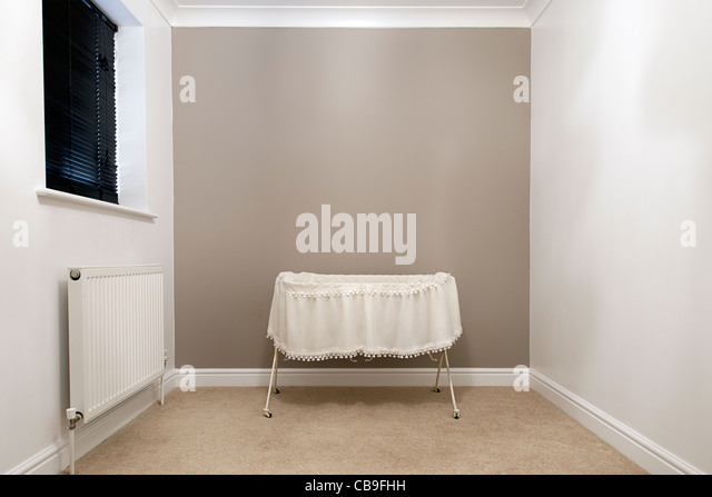 Empty Nursery - Stock Image