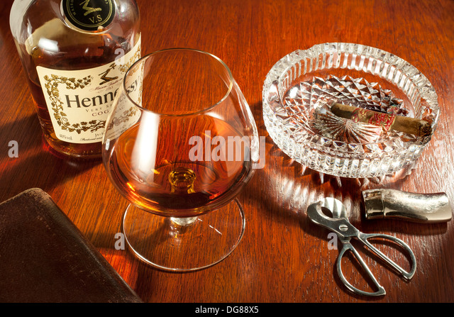 how to drink cognac with ice
