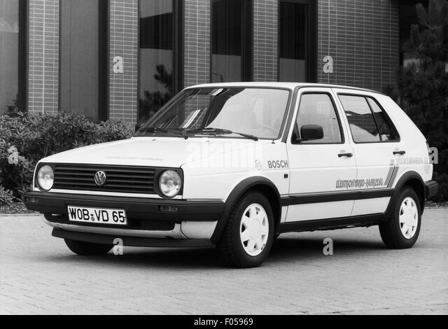 VW Golf hybrid drive, 1980s - Stock Image