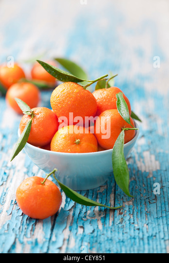 mandarines - Stock Image