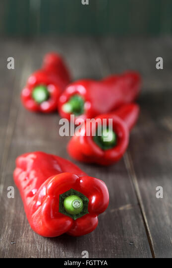 red pepper - Stock Image