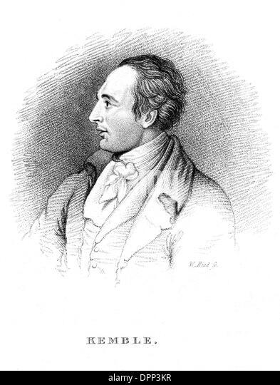 JOHN PHILIP KEMBLE 10 - Stock Image