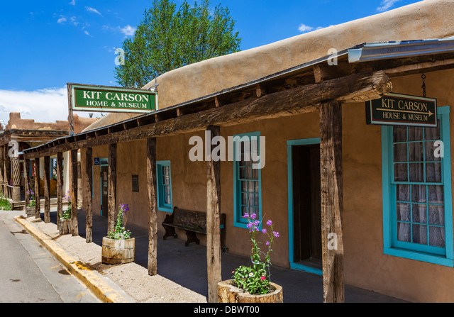 Kit carson stock photos kit carson stock images alamy for Kit homes new mexico
