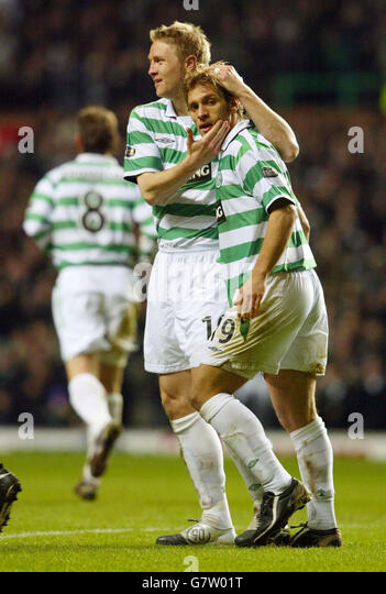 Soccer - Bank of Scotland Premier Division - Celtic v Dundee - Celtic Park - Stock Image