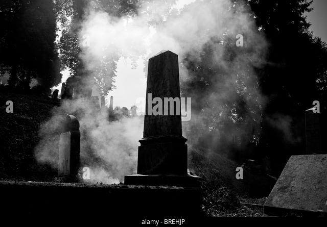 Transilvania, Romania . Sighisoara. Cemetery - Stock Image