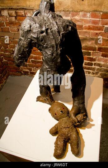 Sculpture by Craig Hudson - Stock Image