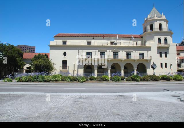 San Jose Civic Auditorium San Jose California - Stock Image