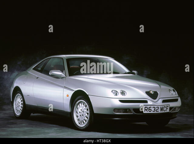 1998 Alfa Romeo GTV twin spark. Artist: Unknown. - Stock Image