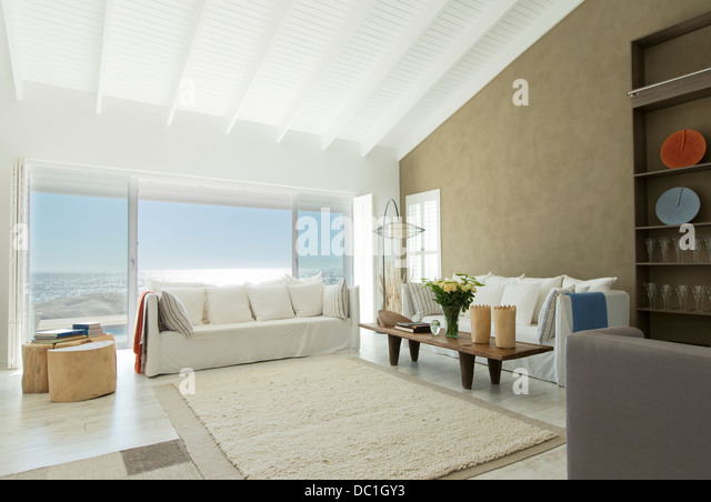 Luxury living room - Stock Image