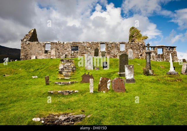 Isle Of Skye United Kingdom  city photos : Old cemetery, Isle of Skye, Scotland, United Kingdom Stock Image