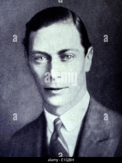 George VI (Albert Frederick Arthur George; 14 December 1895 – 6 February 1952) was King of the United Kingdom and - Stock Image