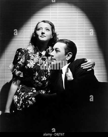 YOU AND ME 1938 Paramount film with Sylvia George and George Raft - Stock Image