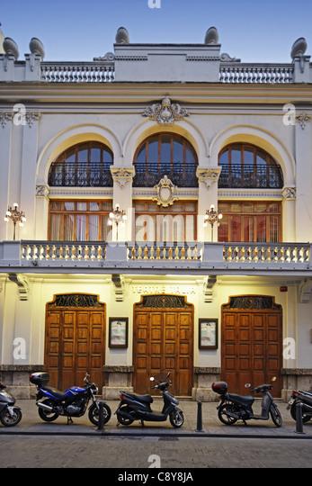 Theatre Talia, Opera, Valencia, Spain - Stock Image