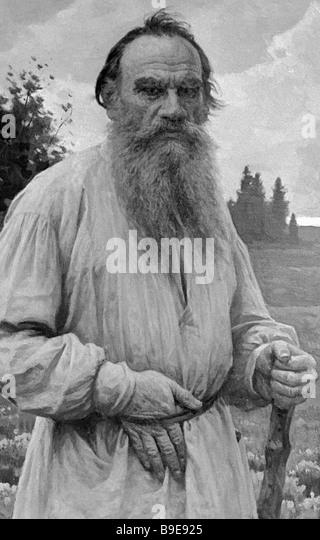 Leo Tolstoy Portrait Stock Photos Amp Leo Tolstoy Portrait