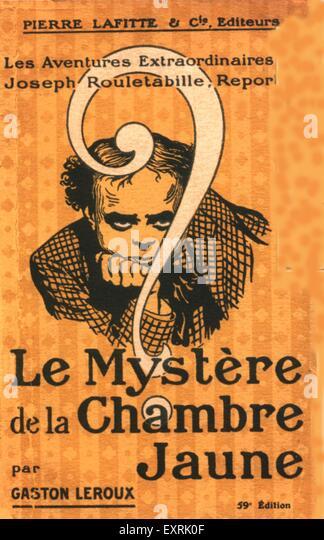 France 1900s stock photos france 1900s stock images alamy for Le mystere de la chambre jaune