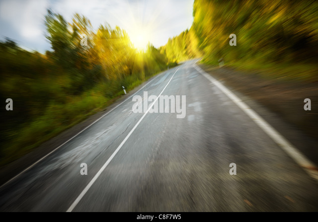 high speed - Stock Image