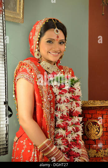 Bollywood actress Zoya Khan while shooting the series 'My Daughter' in the SJ film studios, Mumbai, Maharashtra, - Stock-Bilder