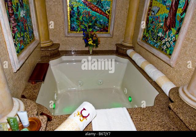 Cinderella Castle Suite The Royal Bath Magic Kingdom Walt Disney World Orlando Florida FL - Stock Image