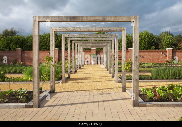 Chewton glen kitchen garden