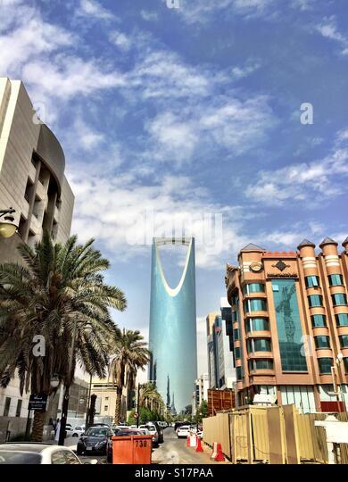 Kingdom Centre, Riyadh - Stock Image