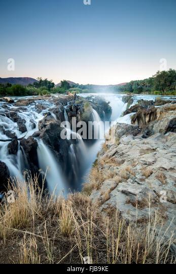 Epupa falls, Namibia. - Stock Image