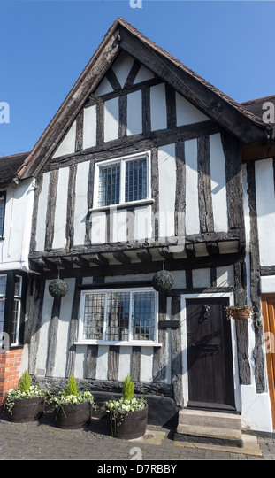 17C House in Warwick. - Stock Image