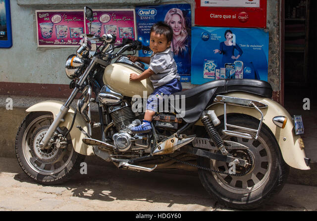 little boy on motorcycle-#10