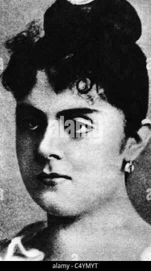 Mary Vetsera, - Stock Image