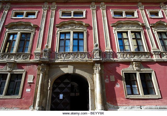 Baroque Palace- Sopron, Hungary - Stock-Bilder