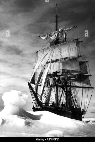 Scott, Robert Falcon, 6.6.1868 - 29.3.1912, British Antarctic explorer, expedition to the Antarctic 1910 - 1912, - Stock Image