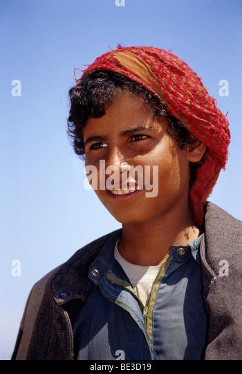 Camel shepherd, Egyptian in traditional dress, garment, portrait, Dschjellahba, Jelleba, clothes, Arabian, Egyptian, - Stock-Bilder