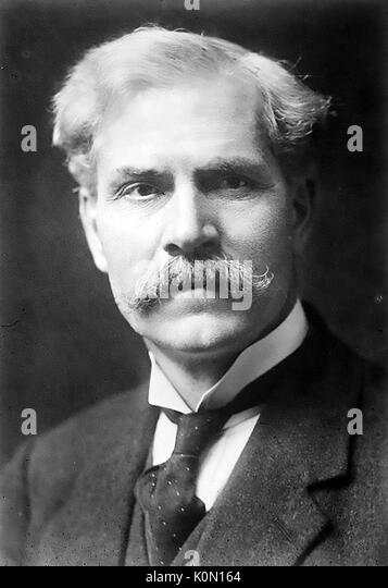 RAMSAY MacDONALD (1866-1937) first British Labour Party Prime Minister - Stock Image