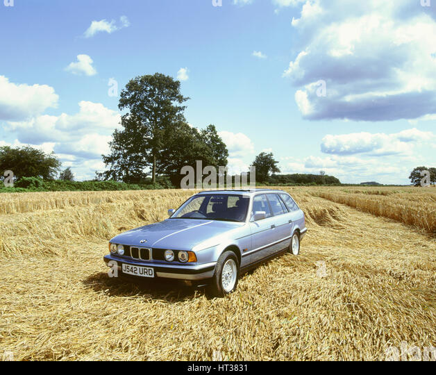 1992 BMW 525i touring. Artist: Unknown. - Stock Image