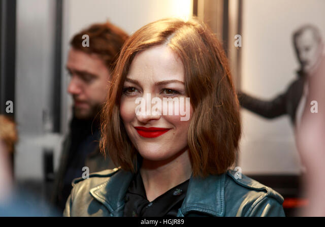 Edinburgh, UK. 22nd January, 2017. T2 Trainspotting premiere at Edinburgh Cineworld. Scotland. Pictured Kelly Macdonald. - Stock-Bilder