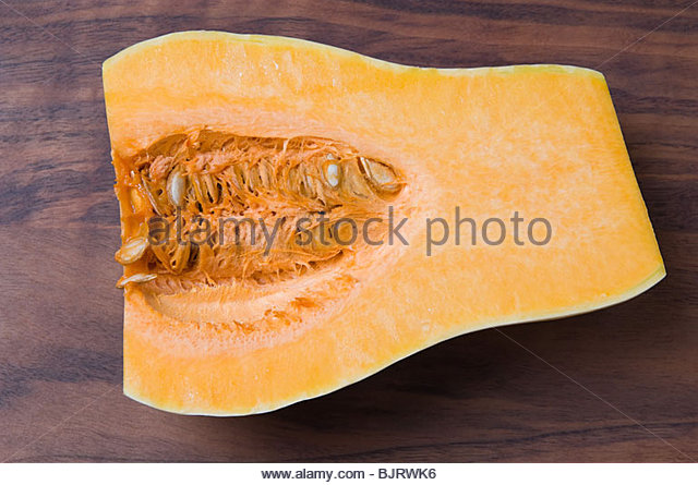 Butternut squash - Stock Image