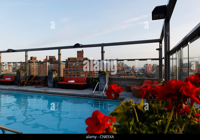 New York Roof Terrace Stock Photos New York Roof Terrace Stock Images Alamy