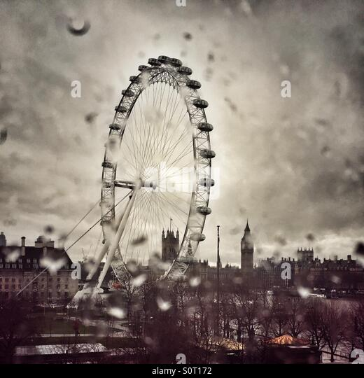 January in London - Stock Image