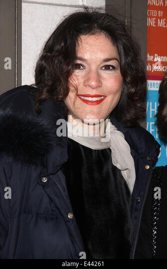 Opening Night of Broadway's Outside Mullingar at the Friedman Theatre - Arrivals.  Featuring: Heather Goldenhersh - Stock Image