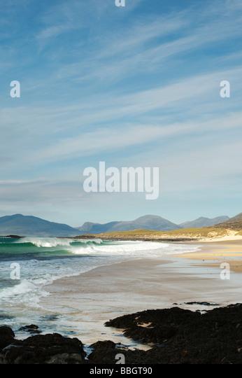 Traigh Lar beach, Isle of Harris, Outer Hebrides, Scotland - Stock-Bilder