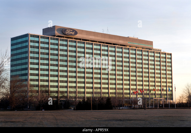 Ford company usa stock photos ford company usa stock for Ford motor company in dearborn michigan