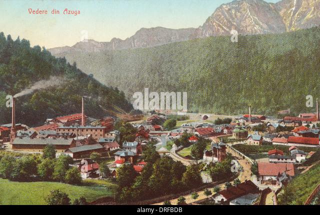 Romania - Azuga - Stock Image