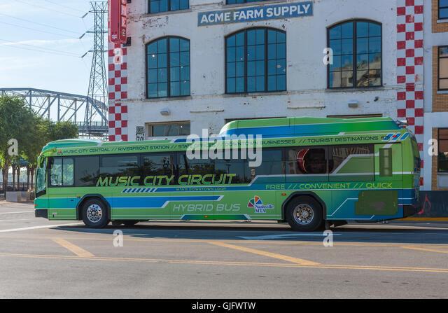 Nashville Hybrid Bus Autos Post