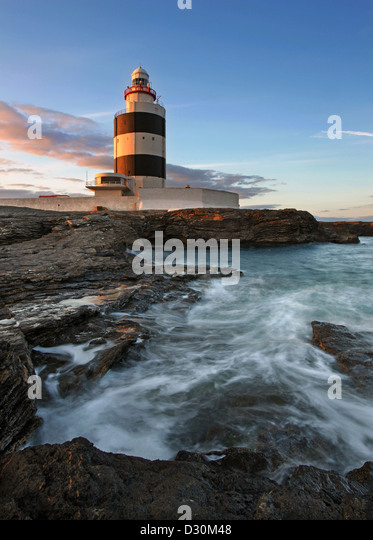 Hook Head Lighthouse, co Wexford, Ireland. - Stock-Bilder