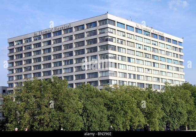 Saint Thomas' Hospital, London, England - Stock Image