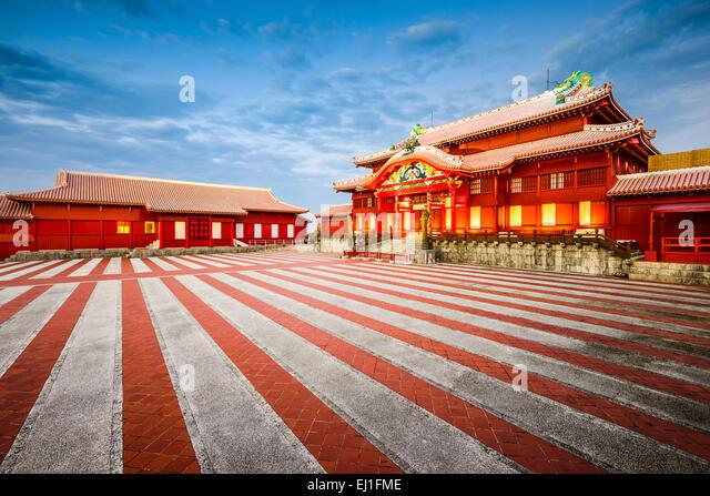 Okinawa, Japan at  historic Shuri Castle. - Stock-Bilder