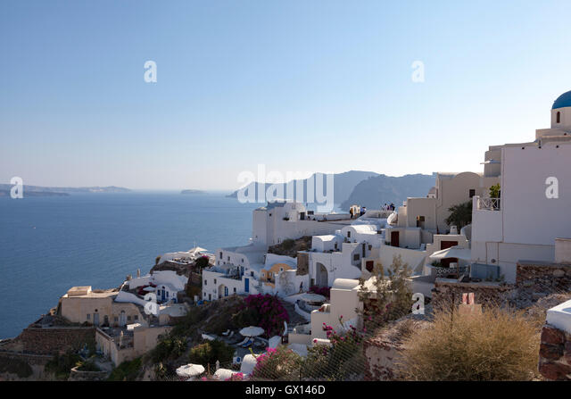 Stunning Santorini in the Greek Islands - Stock Image