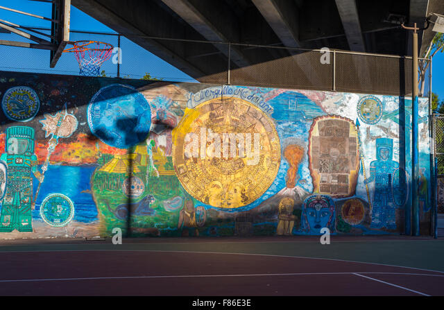 Chicano mural stock photos chicano mural stock images for Chicano mural art